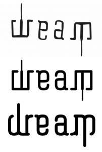 ambigram generator dream