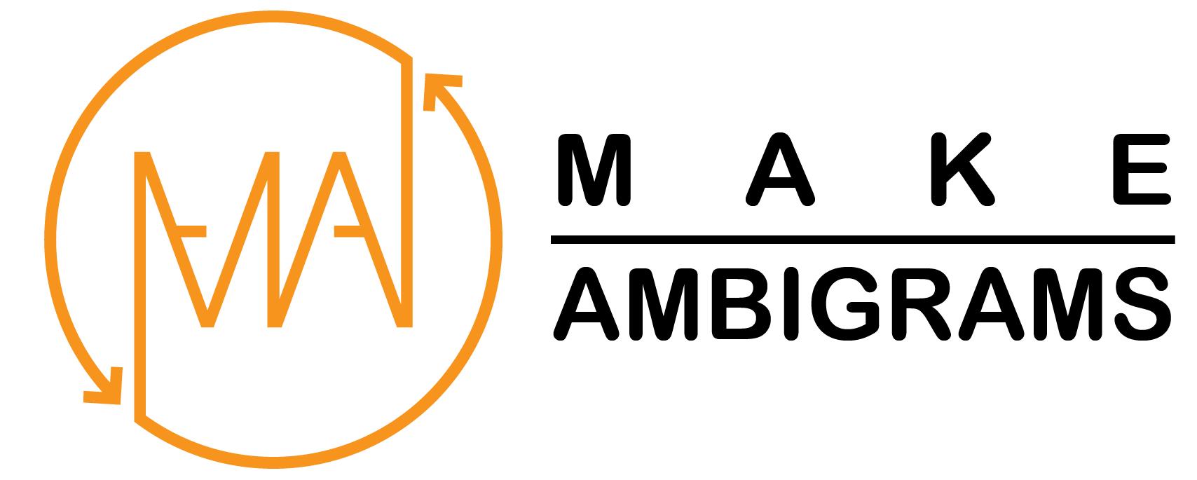 Make Ambigrams